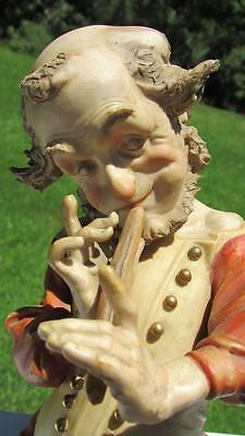 Beautiful Antique Bisque Figurine Mythical Pan Character