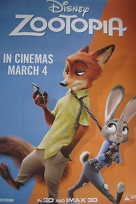 Zootopia  Movie Poster  Double Sided Poster