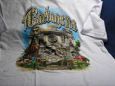 "Hard Rock Cafe "" CARTAGENA, COLOMBIA "" City T-Shirt Brand NEW w/Tags - Size XXL"