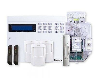 Texecom Premier Elite 48 Live 32 Zone Wireless Home Buglar Alarm Security Kit