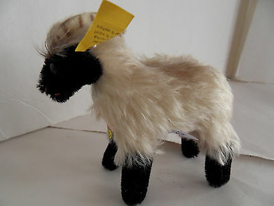 Steiff ram sheep goat mountain goat mohair all IDs made in Germany 1752