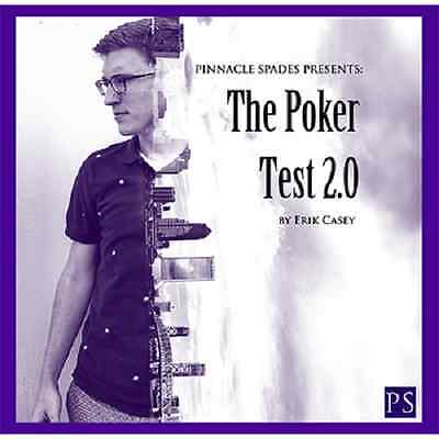 Poker Test 2.0 DVD and Gimmick by Erik Casey 2 - Card Magic Trick DVD Street