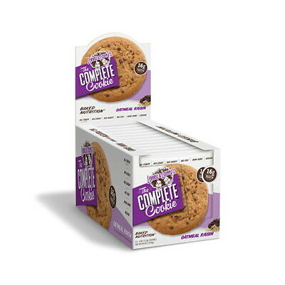 Lenny & Larry's The Complete Cookie - 12 x 113g Oatmeal Raisin TOP (24,26 €/kg)