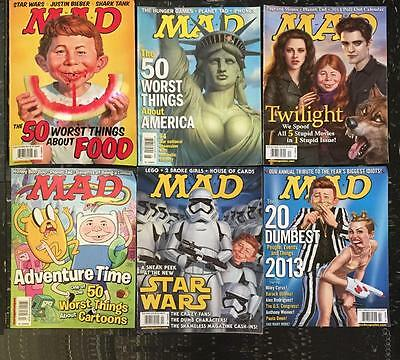 Mad Magazine~Choose Any 4  Issues You Want~W~From Large Lot ~ 2000-2016!!