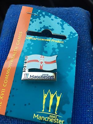 Manchester 2002 Commonwealth Games Northern Ireland  Flag Pin Badge
