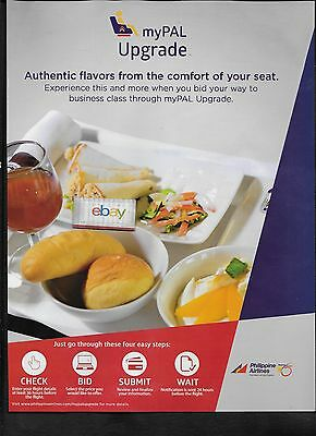 Philippine Airlines My Pal Upgrade To Business Class Select Price 2016 Meal Ad