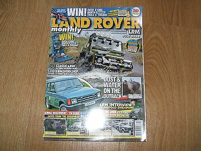 Land Rover Monthly, Lrm Magazine, Jly '08 (Workshop/billing/military/history)