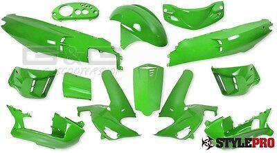 Fairing set fairing 13 Fairing parts in Kawa Green for Gilera Runner