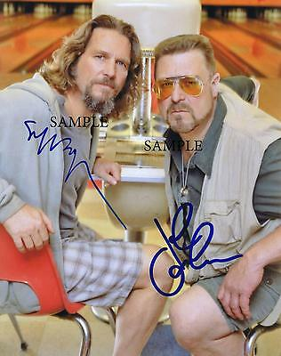 Jeff Bridges John Goodman Reprint Autographed Picture Signed Photo 8X10 Lebowski
