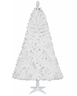 Holiday Time Non Lit 6.5' Jackson Spruce White Artificial Christmas Tree & Stand