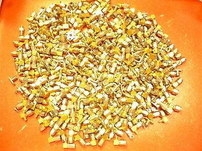 9.76oz/276grams High Grade Gold Plated Connectors For Scrap Gold/Silver Recovery