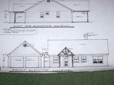 Custom Home Plan 1493 A/C Sq. Ft 1 Story 2 Bed, Office, 2 Baths 2 Car Detached