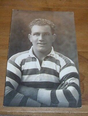 Rugby League Player Portrait Photo Possibly Gerber 1930s ? Photograph