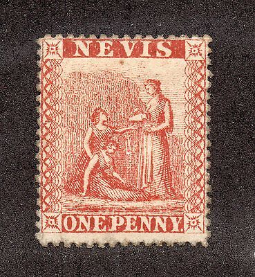 Nevis - SG# 15 MH/ Perf  15  -  Lot 0116170