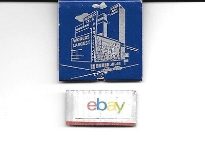 Harold's Club Casino Reno Nevada 25Th Anniversary Matchbook Unused