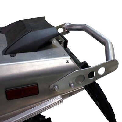 SKINZ PROTECTIVE GEAR Aluminum-Polished Bumper  Part# YNRB650-AL