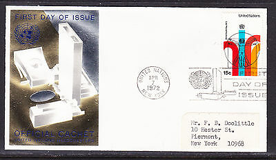 United Nations 1972 - World Health Day First Day Cover addressed