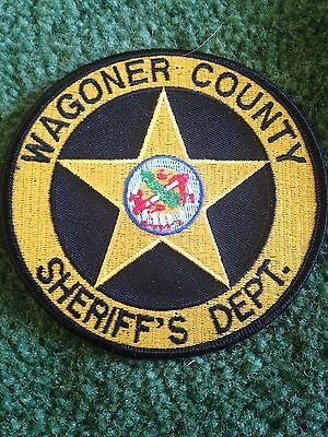 Wagner County Oklahoma Sheriff Police Law Enforcement Patch