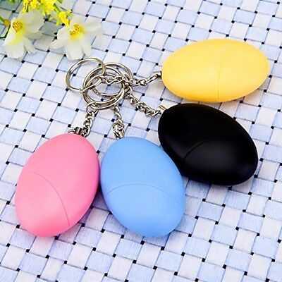 1x Anti-rape Attack Device Alarm Loud Alert Keychain Safe For Personal Security