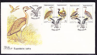 Bophuthatswana 1983 Birds of the Veld First Day Cover - Unaddressed #1.27