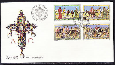 Bophuthatswana 1983 Lord's Passion First Day Cover - Unaddressed #1.25