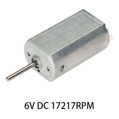 6V DC 17217RPM High-power Torque Magnetic Mini Electric Motor Electrical Tools