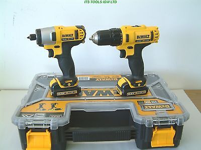 DeWALT DCZ211S2R 10.8v DRILL AND IMPACT DRIVER in T-Stak