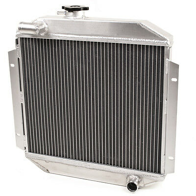 50Mm Aluminium Alloy Radiator Rad Ford Escort Mk2 Rs2000 2.0 Rs 1.6 Sport Pinto