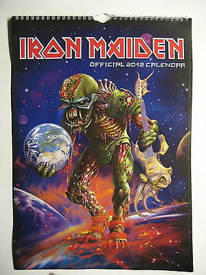 Iron Maiden Kalender Wall Calendar 2012 The Final Frontier