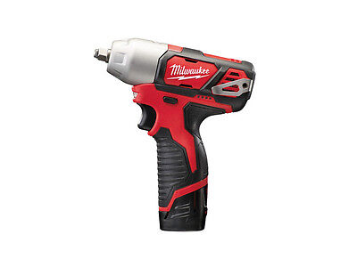 Milwaukee M12BIW38-202C 12v Compact 3/8in Impact Wrench 2 x 2.0ah