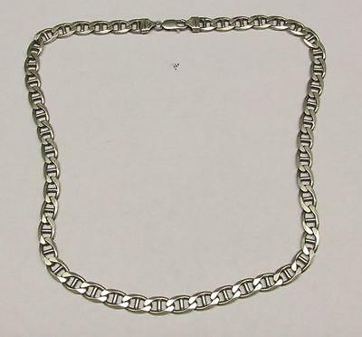 """Sterling Silver Mariner Chain 22"""" Necklace ~ 58.4 grams ~ 6-A845"""