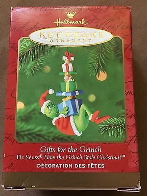200 Hallmark Dr Seuss Gifts For The Grinch Ornament New NIB