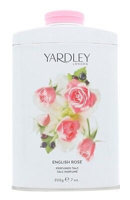 Yardley English Rose Perfumed Talc 200G - Women's For Her. New. Free Shipping