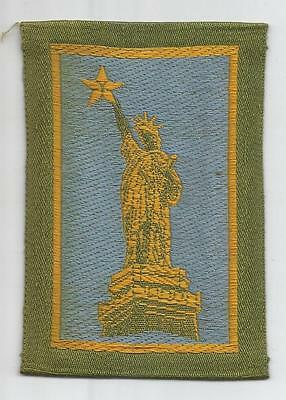 WW 1 US Army 77th Division Liberty Loan Patch Inv# K303