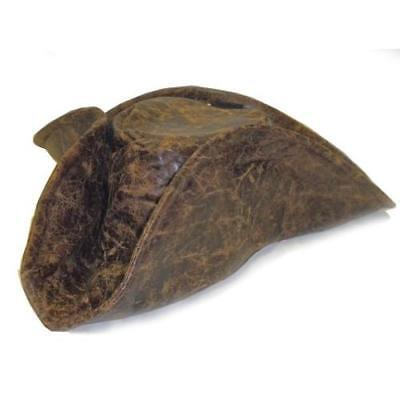 Jacobson Hat Company Men's Caribbean Pirate Hat, Brown, One Size New
