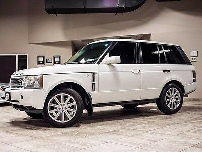 2006 Land Rover Range Rover  2006 Land Rover Range Rover Supercharged SUV Rear Entertainment System! Loaded!