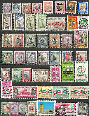 Jordan nice collection mint/used stamps