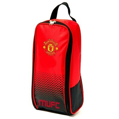 Manchester United Boot Bag Official Man Utd Football FC Shoe Trainers MUFC New