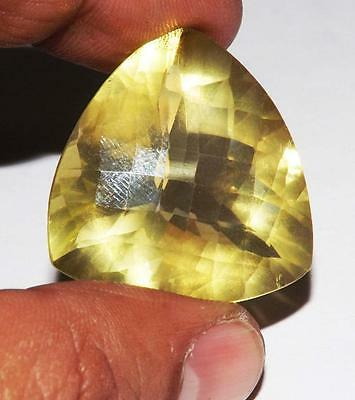65 cts 100% Natural Earth Mined Vsi1 Qlty Lemon Citrine Gemstone #Q#151