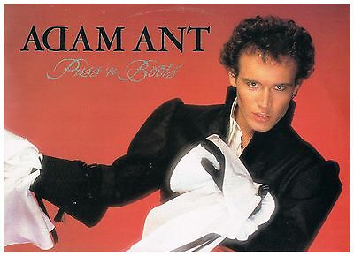 "Adam And The Ants Adam Ant Puss 'n Boots Uk 12"" Promo Demo Superb! Free Uk Post"