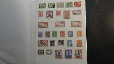 Nepal  Stamp collection on Homemade quadrille pages w/ postal history