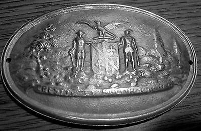 1863 Civil War 8th Maryland Infantry Breast/Box Plate Union Army