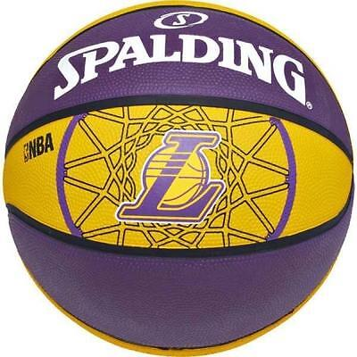 Spalding Ballon De Basket Nba Team Lakers, Taille: 7 -