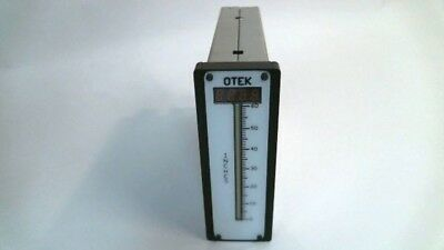 New Otek Corporation HIQ119095100491 Scale 0-60'' Electrical Bar Graph Meter NIB