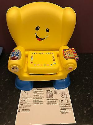 Fisher Price Laugh And Learn Chair !!!!!
