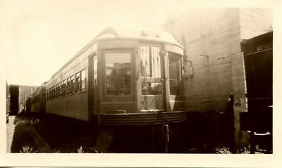 6K465 RP 1930s INDIANA RAILROAD  CAR #304 RETIRED 1939