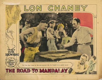 Lon Chaney lobby card for The Road to Mandalay- 1926 - MGM