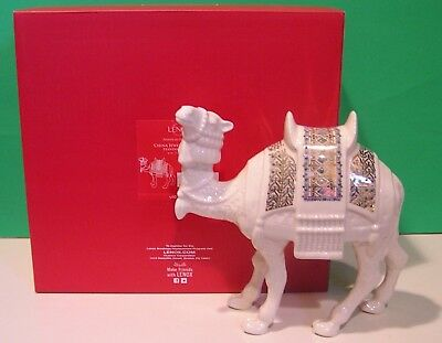 LENOX Nativity CHINA JEWELS CAMEL Standing NEW in BOX First Quality