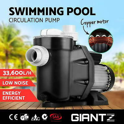2HP 1500W Swimming Pool Spa Electric Water Pump Pressure Filter Self Priming