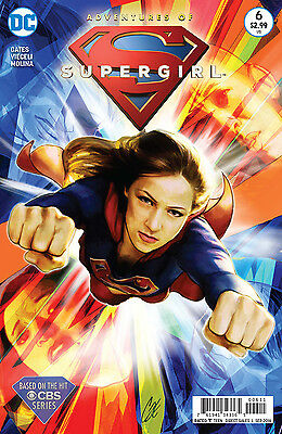 ADVENTURES OF SUPERGIRL #6, CBS TV SHOW, New, First Print, DC Comics (2016)
